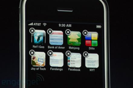 iPhone écran
