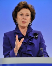 Portrait de Neelie Kroes