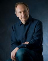 Portrait de Tim Berners Lee