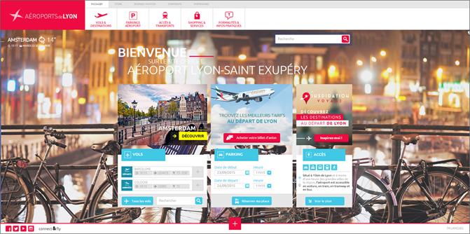 Aéroports de Lyon - homepage